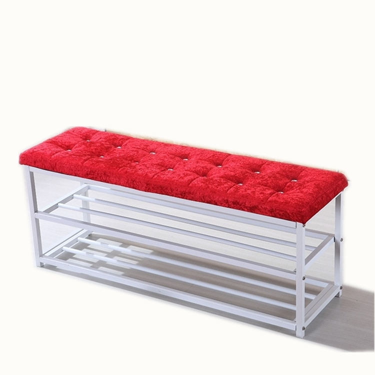 Shoe change stool simple home shoe rack stool can sit shoe cabinet dormitory multi-level bedroom fitting room stool