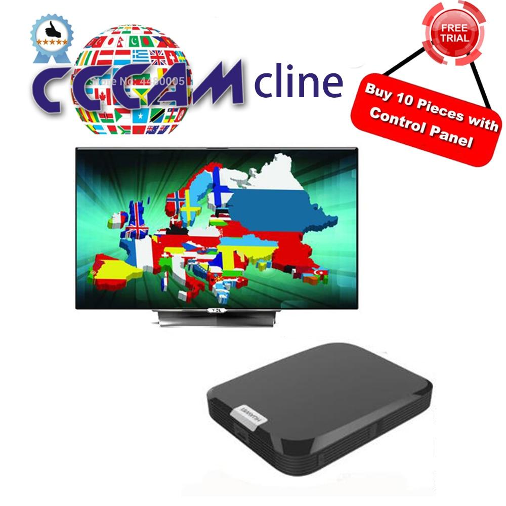 Servidor HD Cccam Cline 1 año para Europa DVB-S2 receptor de satélite HD 1 año Cccam cline para España portugal Alemania Reino Unido Polonia