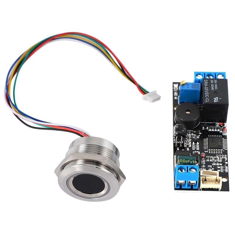 K202 DC12V منخفضة الطاقة لوحة تحكم بصمات الأصابع + R503 وحدة بصمة اليد وحدة التعرف على بصمات الأصابع