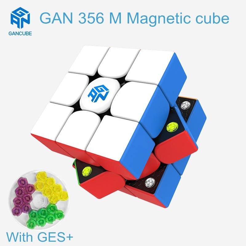 cubo magico gan 356 m 3x3x3x3 cubo magico da piramide magnetica 333 velocidade cubo