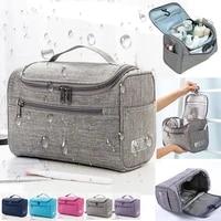 waterproof makeup bag cosmetic bag toiletries organizer travel storage bag wash bag bath kit