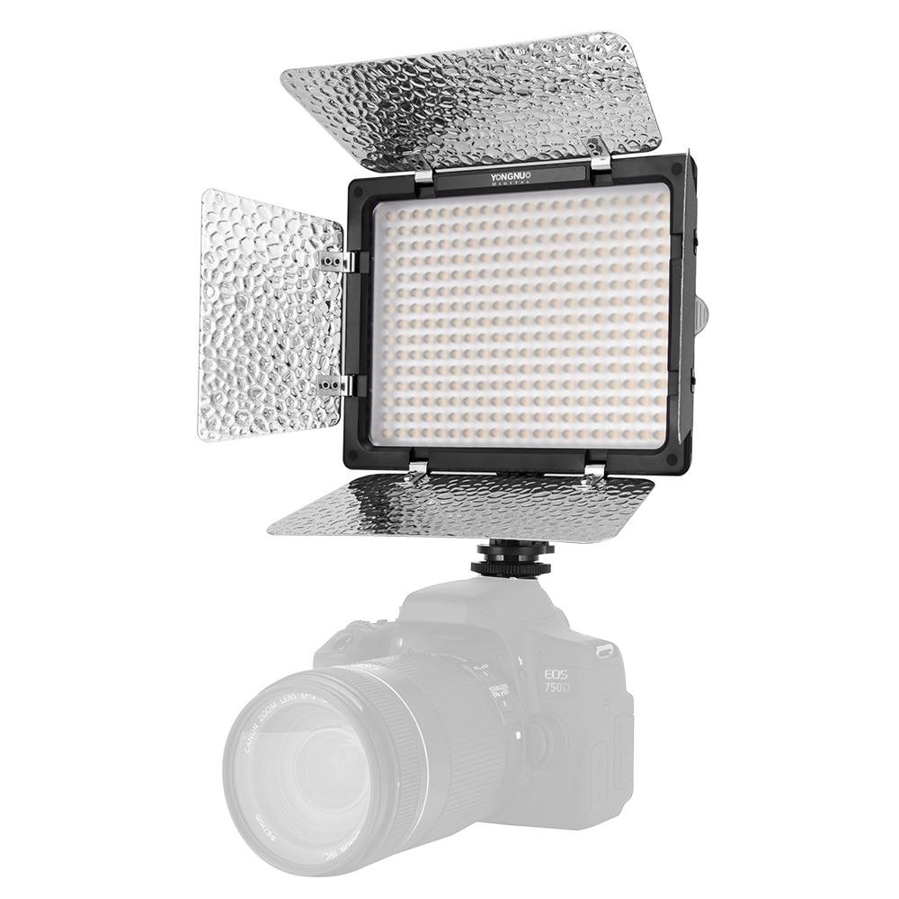 Yongnuo YN300 III YN300III 3200k-5500K CRI95 Camera Photo LED Video Light Optional with AC Power Adapter   NP770 Battery KIT
