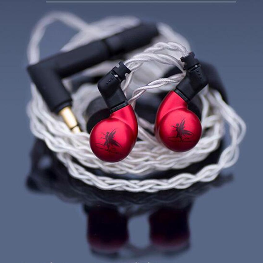 Little Dot Cu Cen DD BA-سماعات رأس هجينة ، سماعات رأس لاسلكية مع شاشة موسيقى HiFi للموسيقي ، 0.78 مللي متر