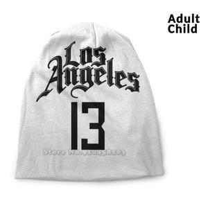 Paul George Clippers Jersey Personality Hip Hop Head Caps Beanie Hats Bonnet Paul George George Pg Pg13 Clippers La Los Angeles