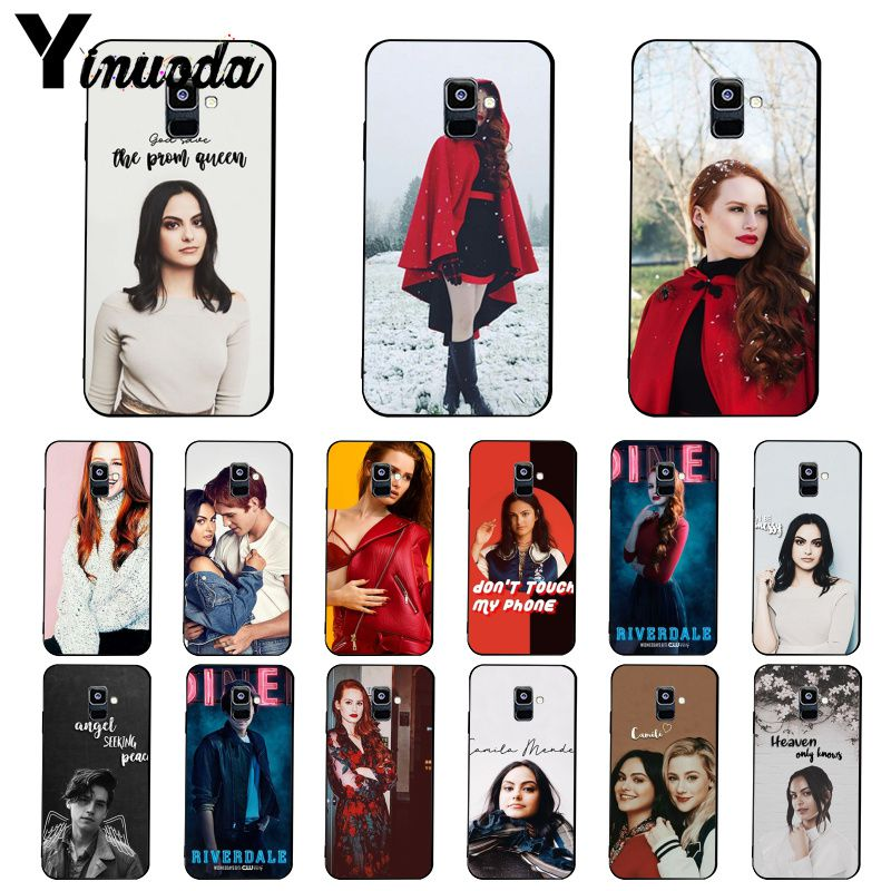 Yinuoda Archie Betty Jughead Jones Veronica Riverdale caso de teléfono para Samsung Galaxy A7 A50 A70 A40 A20 A30 A8 A6 A8 más A9 2018