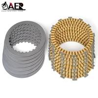 jaer clutch friction disc plates for honda crf450x 2005 2017 crf450 xrl 2014 2016 crf450r 2002 2003 crf450r r6 r7 r8 2006 2008