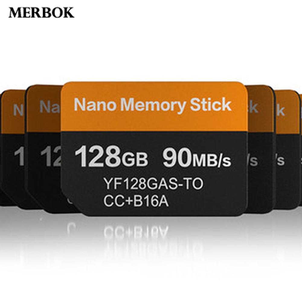 Tarjeta Nano Memory Stick NM para Huawei P30 Pro 128GB 90 MB/S NM-tarjeta con USB3.1 Gen 1 Tipo C lector de tarjetas TF/NM de doble uso
