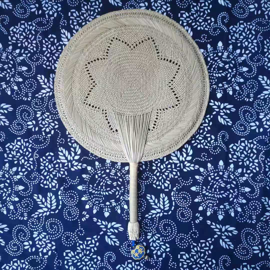 Children Summer Chinese Style Fan Handle Vintage Banana Decoration Personal Fan Manual Manual Kipas Angin Home Garden AG50ZS enlarge