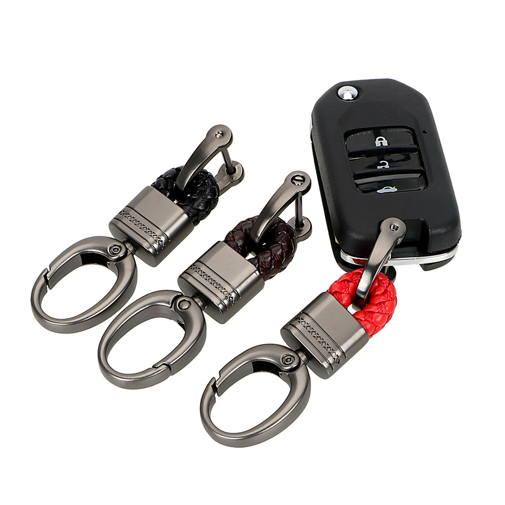 Универсальный автомобильный брелок для ключей, брелок для HYUNDAI IX35 Solaris Elantra Skoda Opel Mokka kia sportage audi a4 b8 volvo