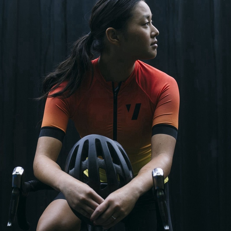 VOID ciclismo jersey mujer 2020 MTB Superlight race ajuste hermosa chica naranja ciclismo oupas de ciclismo leve Damen Radsport Shir