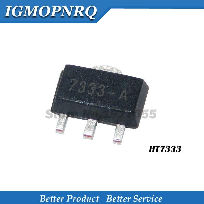 10PCS HT7333-A SOT-89 HT7333-1 HT7333 7333-1 SMD SOT-89 7333A-1 original novo