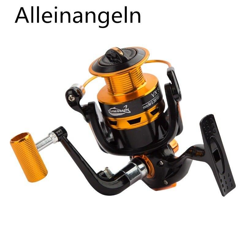 Fishing Reel 13-Axis All-Metal Spool Fishing Wheel Fishing Wheel Spinning Reel Reel for Telescopic  Fishing Reel Pesca reel nursing