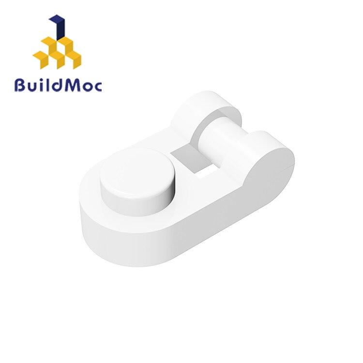 BuildMOC Compatible con partículas de ensamblaje 26047 placa modificada 1x1 redondeada con mango piezas de bloques de construcción regalos educativos juguetes