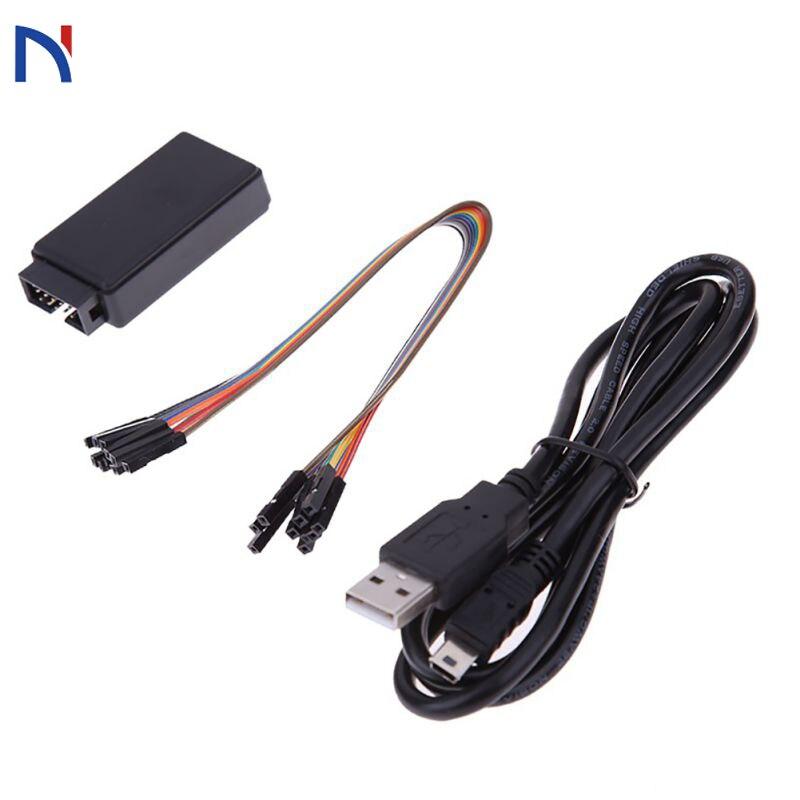 USB логический анализатор 24 м 8CH микроконтроллер ARM FPGA инструмент отладки 24 МГц, 16 МГц, 12 МГц, 8 МГц, 4 МГц, 2 МГц логический анализатор usb 24 МГц