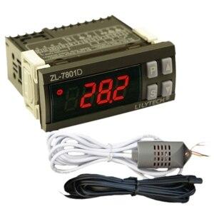 LILYTECH ZL-7801D Multifunctional Automatic Incubator Controller Mini XM-18 Temperature Humidity Incubator Controller