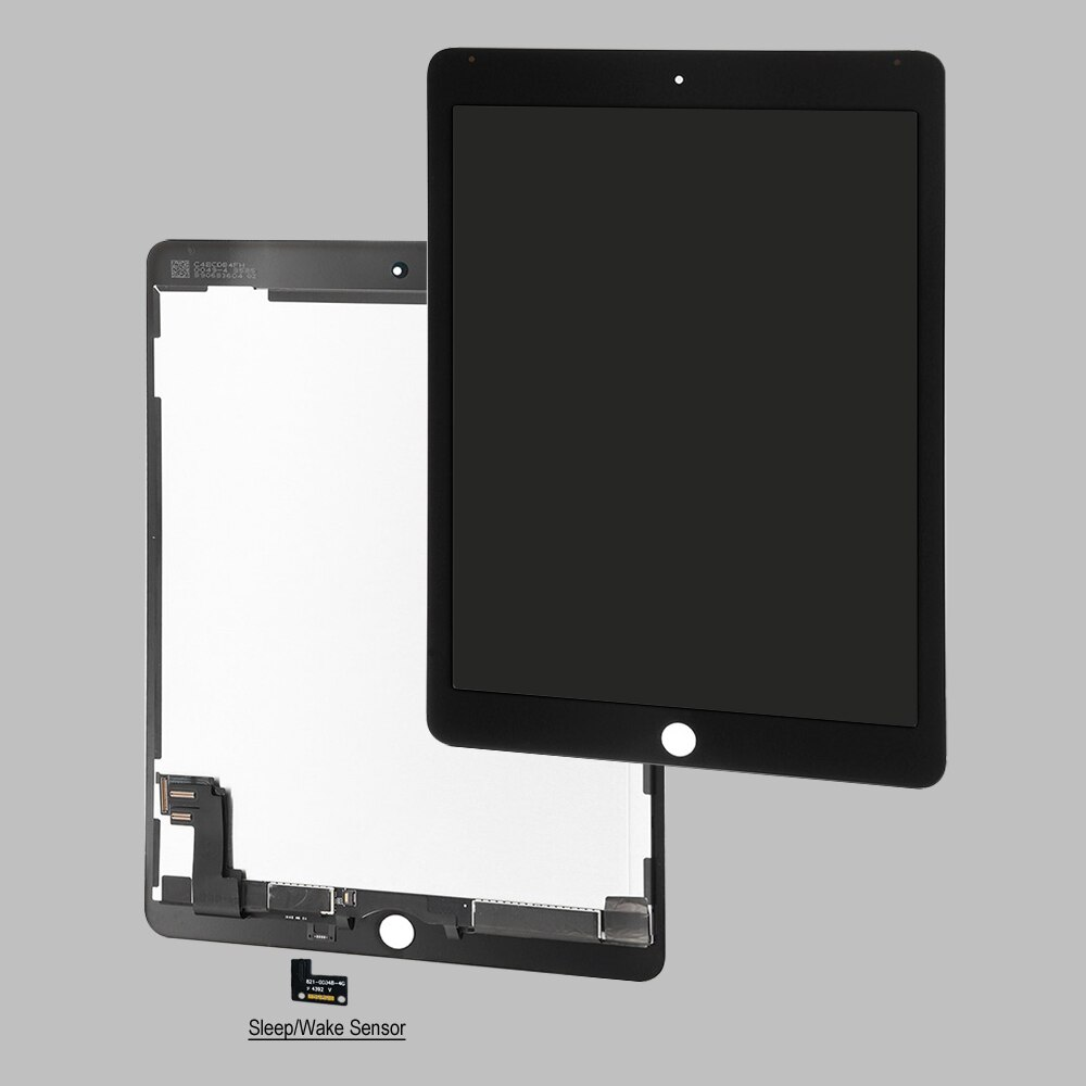 Air2 a1567 a1566 عرض مع المسافة الاستشعار استبدال لباد الهواء 2 lcd شاشة تعمل باللمس محول الأرقام لاصق كامل