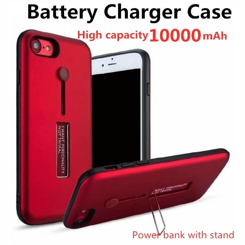 Внешний аккумулятор на 10000 мА · ч для iphone 6, 6s, 7, 8 Plus, зарядное устройство для iphone XSMax, 11 Pro max, поставляется с чехлом-подставкой для iphone11