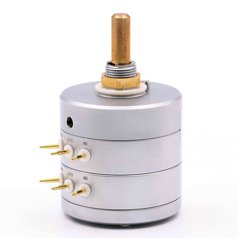 EIZZ 24 Setps 10K 50K 100K 250K HiFi potenciómetro de alta gama de presión parcial