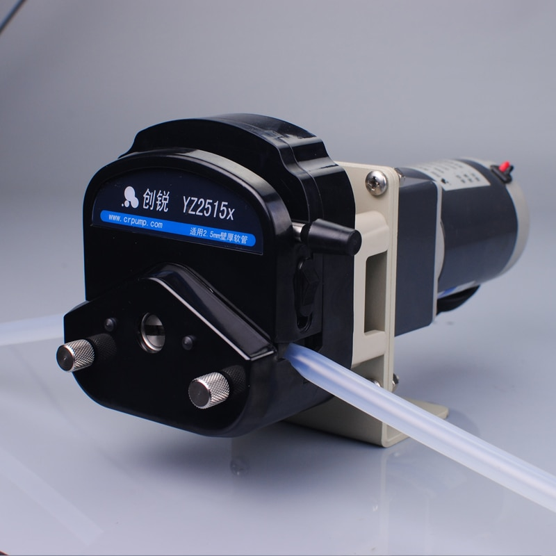 Chuangrui  Small Water Transfer Peristaltic Pump 12V Supporting Transfer System enlarge