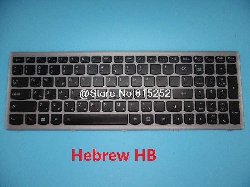 Keyboard For Lenovo Z500 P500 P500T Z500A Russian RU Italy IT Hungary HU Japanese JP Hebrew HB Bulgaria BG Canada CF Backlit