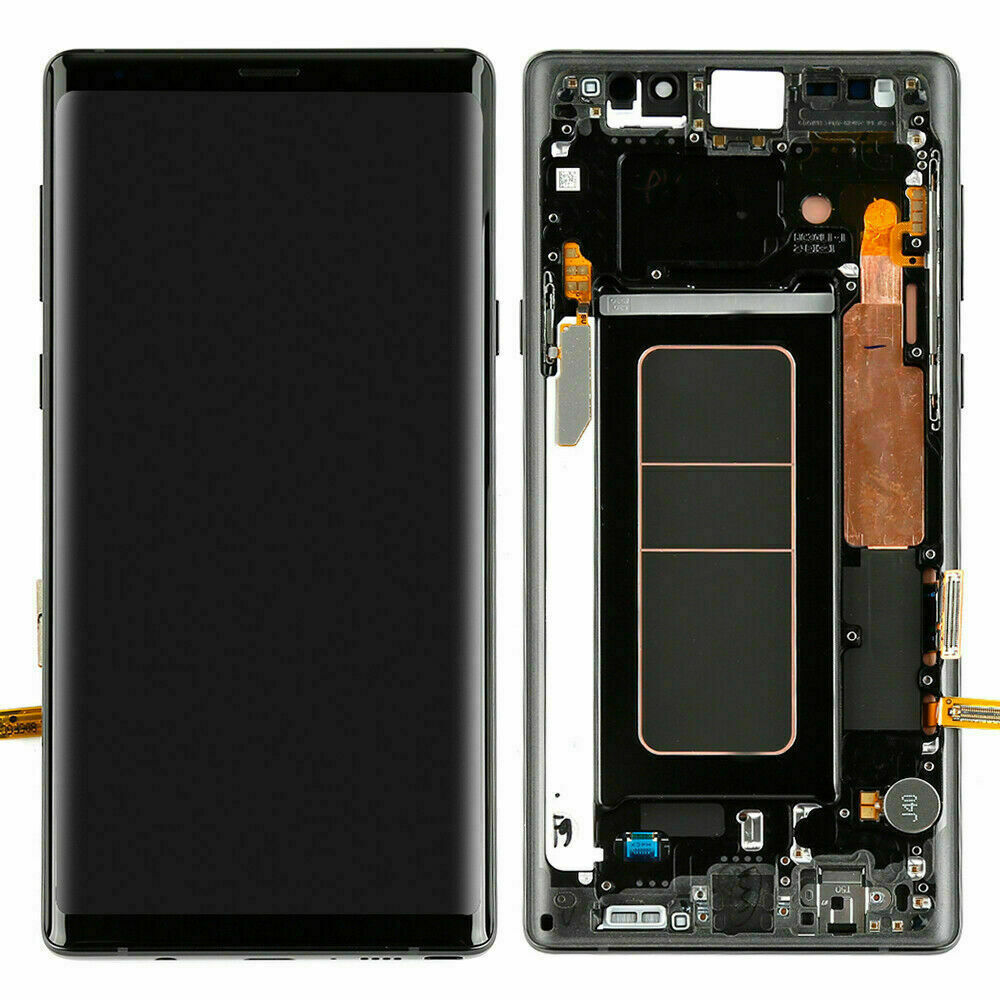 Burn in Shadows Original Samsung Galaxy Note9 LCD With Frame N950F N950U Touch Screen Note 9 Assembly Adhesive Tools enlarge