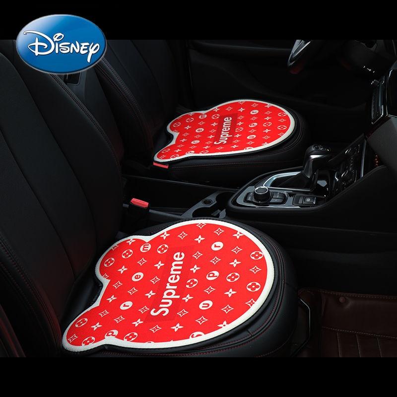 Disney Car Seat Summer Breathable Seat Cushion Universal Seat Fart Pad Non-slip Monolithic Car Interior Decoration enlarge