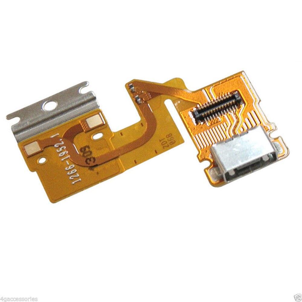 10 unids/lote para Sony Tablet Xperia Z SGP311 puerto de carga USB Cable flexible