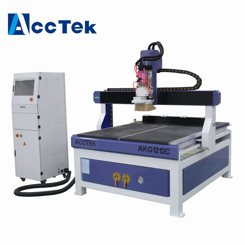 AccTek 4x4 pies ATC máquina cnc grabado de madera Máquina automática cambiadores de Herramientas cnc enrutador