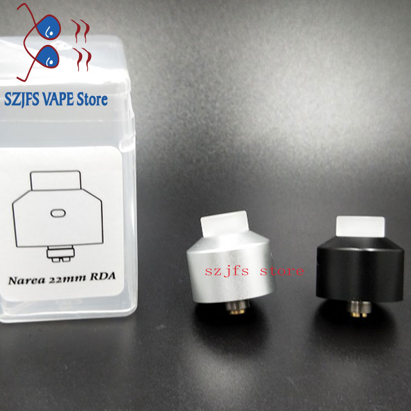 NarEa RDA 22mm dripping tank new Narda rda in 304 Stainless Steel with silver vs Apocalypse GEN 2  US1