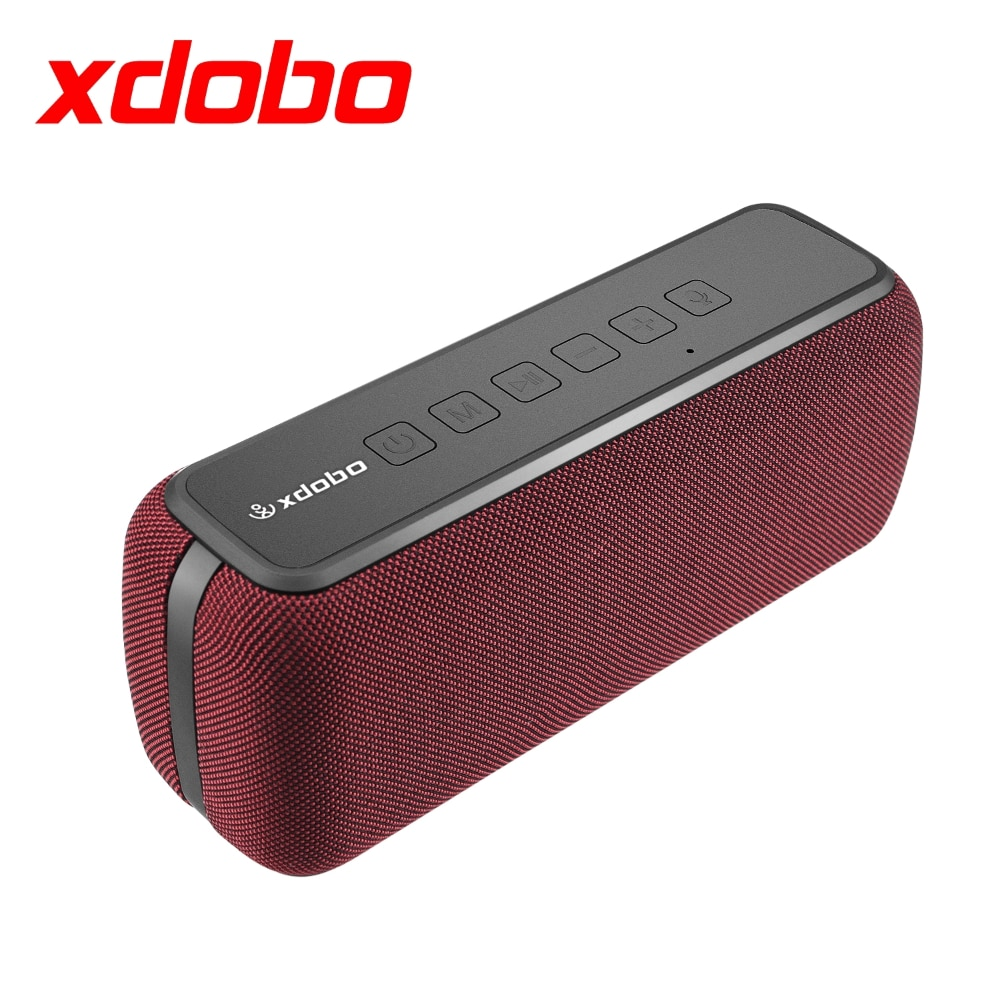 XDOBO X8 60W Bluetooth Speakers Wireless IPX5 Waterproof TWS Portable Subwoofer 15H Playing Voice Assistant Extra Bass System enlarge