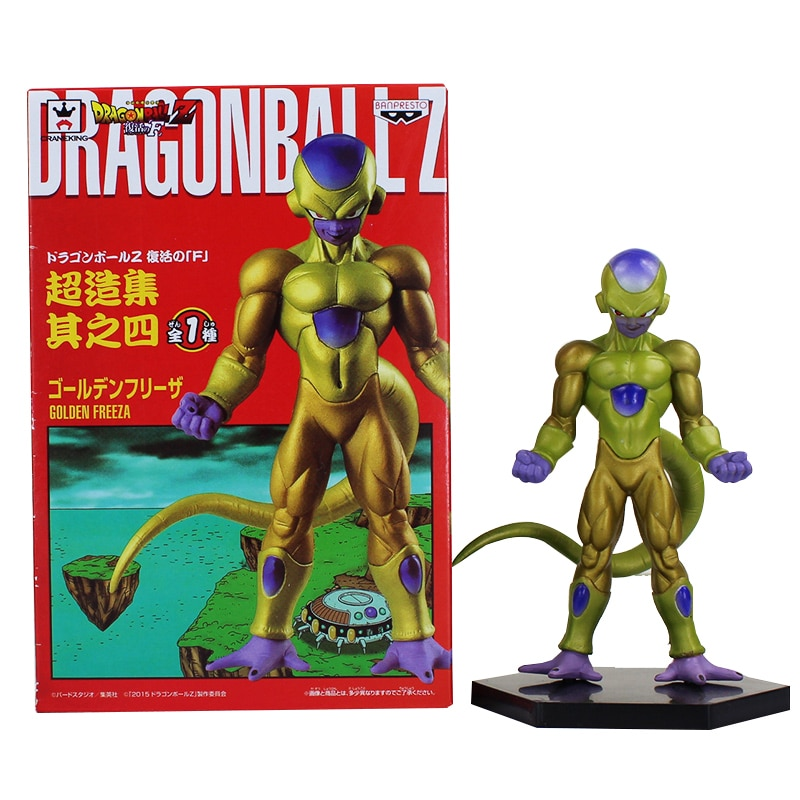 5 Teile/los Heißer Anime Fukkatsu Keine F Auferstehung F Frieza Goldene Freeza ChouZouSyu 14CM Action Figur