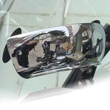 Para Honda STX1300 TRANSALP 600 700 650 Valkyrie XL1000 XL125V V1-3 Varadero/ABS 180 grados retrovisor de seguridad dar espejos completos