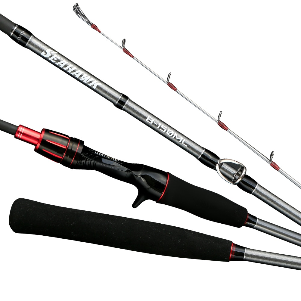 Fishing rod for Casting Slow Jigging Rod PE 0.6-1.5 light Jigging rod Solid tip Rubber Tail Fishing Rod High Quality Octopus enlarge