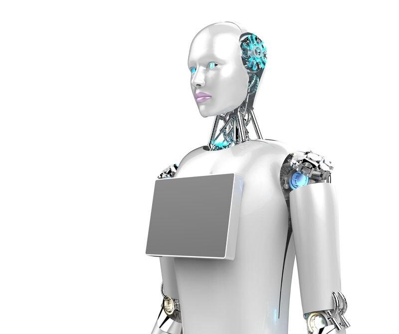 Nuevo robot de bienvenida al aeropuerto inteligente con ahorro de energía, robot de bienvenida de alta calidad orientado al servicio