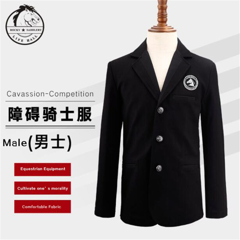 Cavassion Equestrian Clothes Knight Equestrian Competition Uniform when riding Horses Fale Style