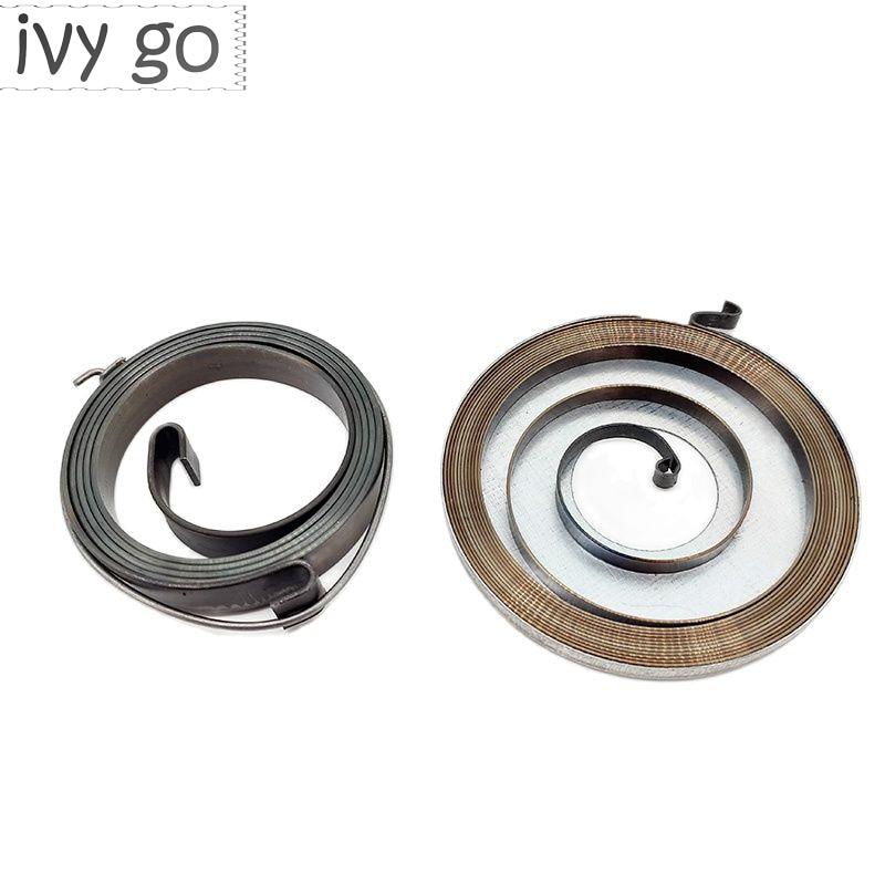 Стартерные пружины 2 шт./лот подходят для бензопилы 4500 5200 5800 45cc 52cc 58cc, запасные части для бензопилы