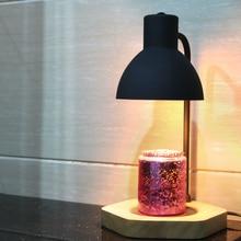 Electric Incense Burner Holder Aroma Lamp Incense Waterfall Gothic Decor Electric Oil Burner Porte Encens Home Decor BA60XXL