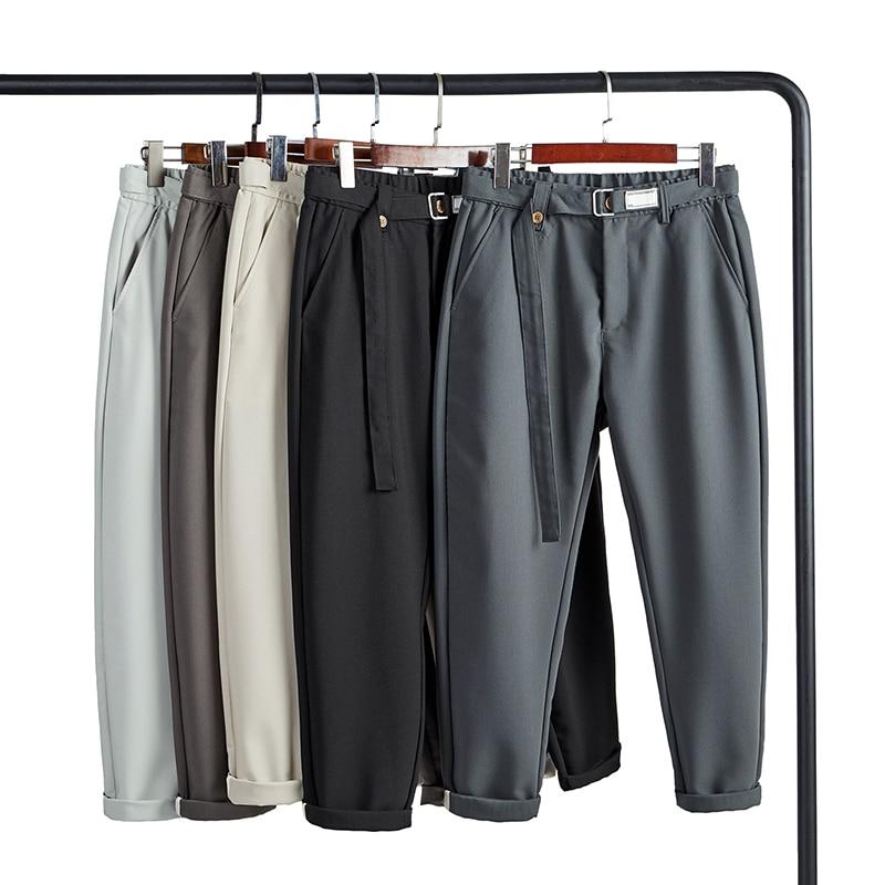 Pants Men Trousers Office Men Pants trousers pantalon hombre verano harem pants men Summer Pants men Casual Fashion comfort 2021