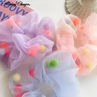 1pc large intestine hair ring headband hair rubber band hair ornament fashion candy color hair scrunchies hair accessories hot