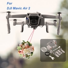 Système de goutte dair Airdrop pour DJI Mavic Air 2 Drone appâts de pêche anneau de mariage cadeau livrer des accessoires de lanceur à distance de sauvetage de la vie