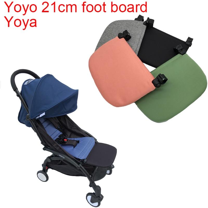 يويو 2 عربة اكسسوارات منضدة الساق مجلس تمديد مسند للقدمين ل Babyzen Yoyo2 يويو 2 يويا الطفل يدفع باليد