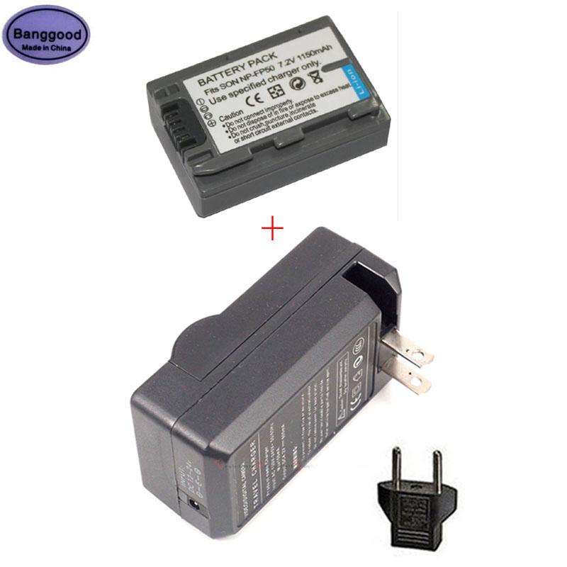 Bateria da Câmera para Sony np Np-fp30 Np-fp60 Np-fp70 Np-fp71 Np-fp90 Dcr-sx40 Sx40r Sx41 New 1150mah Np-fp50 Fp50 Npfp50