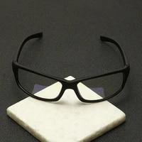 anti blue protection glasses square optical prescription myopia computer glasses frame women men anti blue sport glasses goggle
