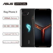 ASUS téléphone mobile 8 go RAM 128 go Octa Core Snapdragon 855 Plus 6000mAh NFC Android9.0