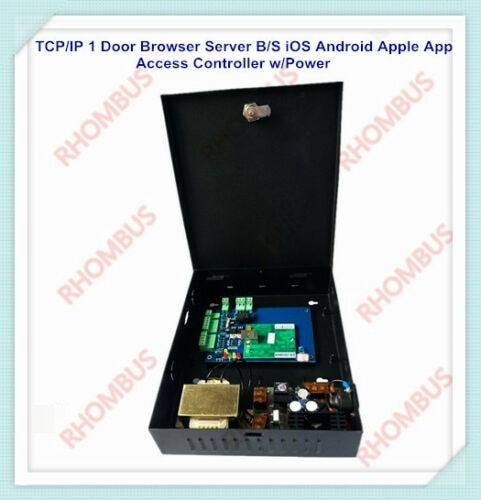 TCP/IP 1 puerta navegador servidor B/S iOS Android App control de acceso...