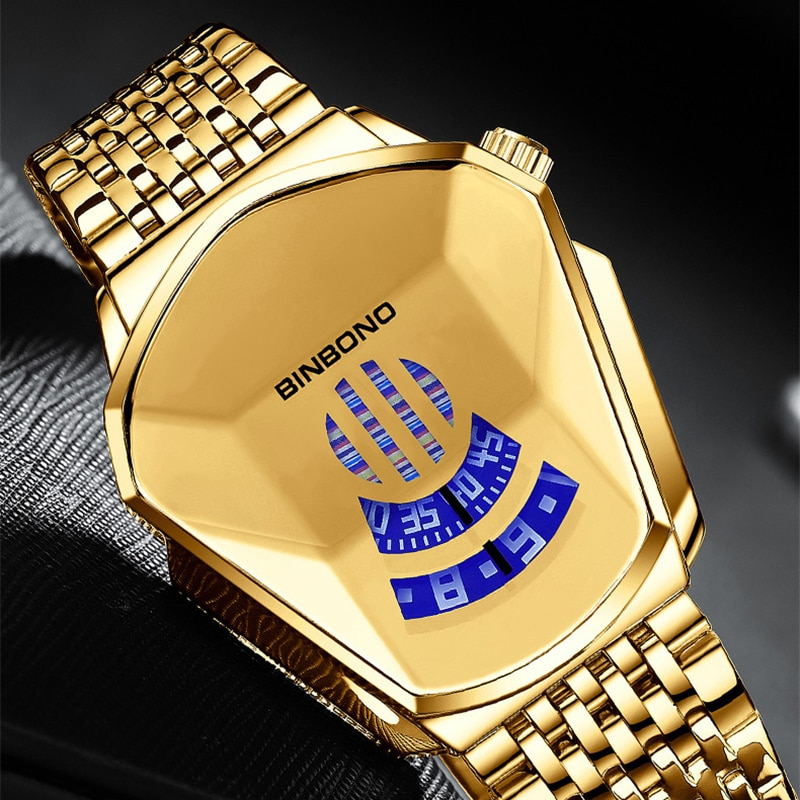 Relogio Masculino Top Brand Luxury Military Fashion Sport Watch Men Gold Wrist Watches Man Clock Cas