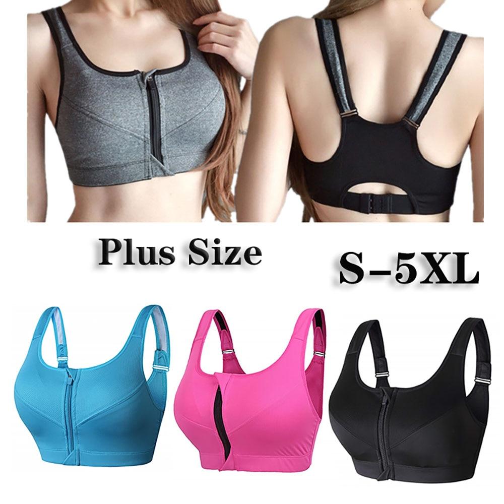 S-5XL Sports Bra Crop Top Fitness Women Sportswear  Feminine Sport Top Bras Female Fitness Workout Running Underwear Plus Size