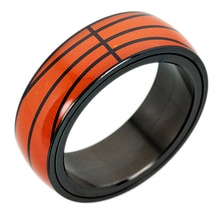 NBA championnat anneaux étoile Football basket-ball Baseball Rugby titane acier Spinner anneau ensemble sport mouvement anneaux pour femmes hommes