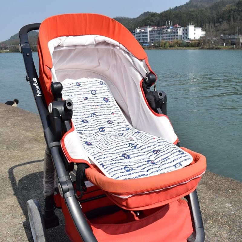 Baby Car Seat Pad pram Mattress Kids Seat insert liner 5 points Pushchair Mat Stroller Support cushion accessories sabana capazo