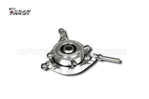 Tarot Helicopter Parts 450 CCPM Metal Swashplate Silver TL45026-00